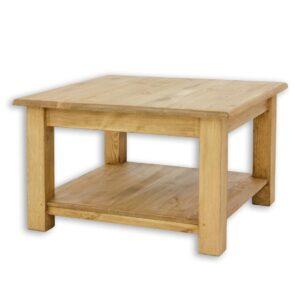 Drewniany stolik kawowy, ława MES06