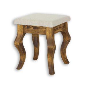 Drewniany taboret LUD 16