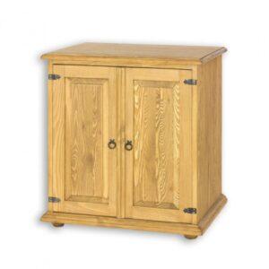 Drewniana komoda, szafka pod zlew COM20