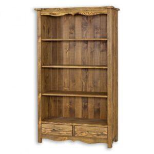 Drewniany regał LUD 12